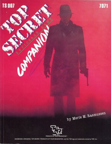 9780394549590: Top Secret Companion (Top Secret RPG Accessory TS007)