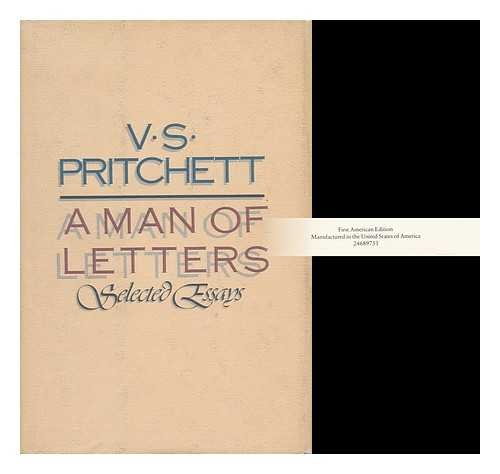 9780394549828: A Man of Letters: Selected Essays