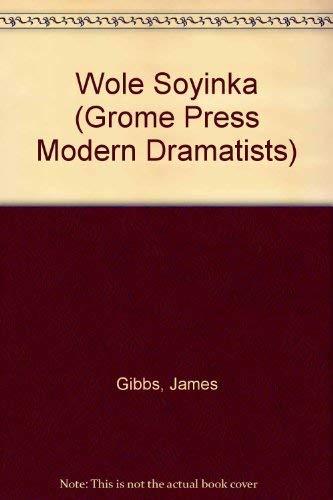 9780394551371: Wole Soyinka (Grove Press Modern Dramatists)