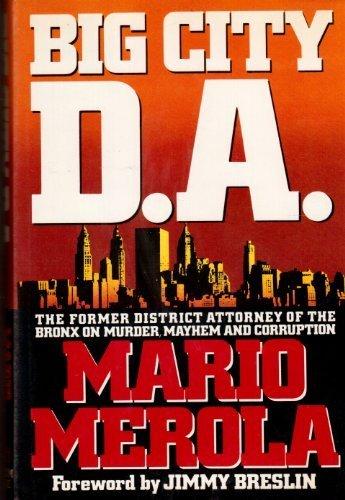 9780394552637: Big City D.A.