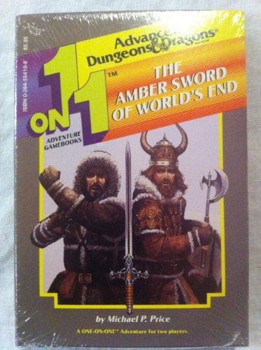 9780394554105: The Amber Sword of World's End (Advanced Dungeons & Dragons, 1 on 1 Adventure Gamebooks)
