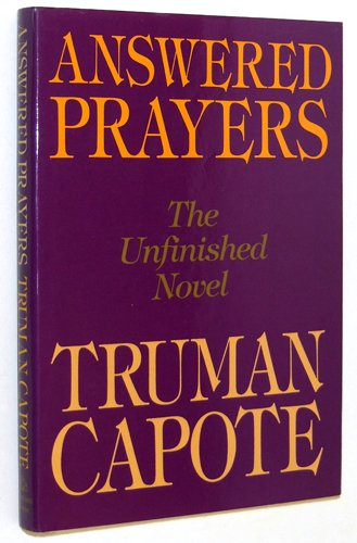 9780394556451: Answered Prayers: The Unfinished Novel