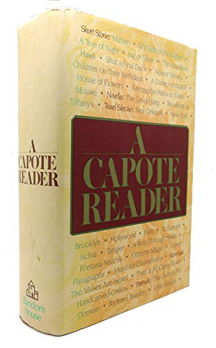 9780394556475: Capote Reader