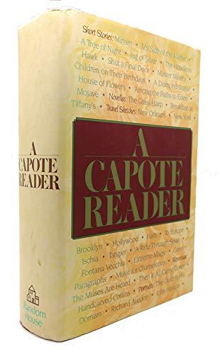 9780394556475: A Capote Reader