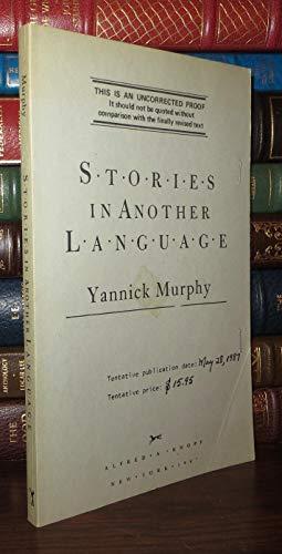 STORIES ANTHR LANGUAGE: Murphy, Yannick