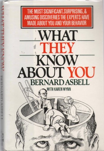 9780394557915: What They Know About You