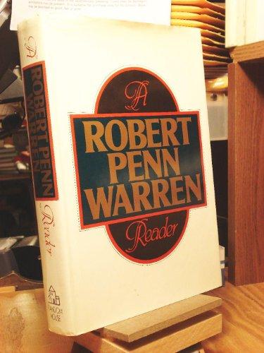 Robert Penn Warren Reader: Warren, Robert Penn
