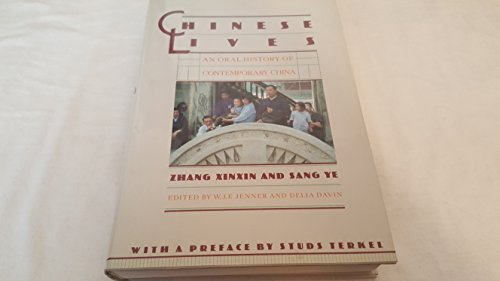 9780394559285: Chinese Lives: Oral History