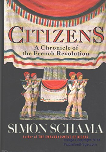 9780394559483: Citizens: A Chronicle of the French Revolution