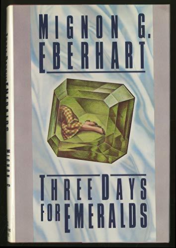 9780394561080: Three Days for Emeralds