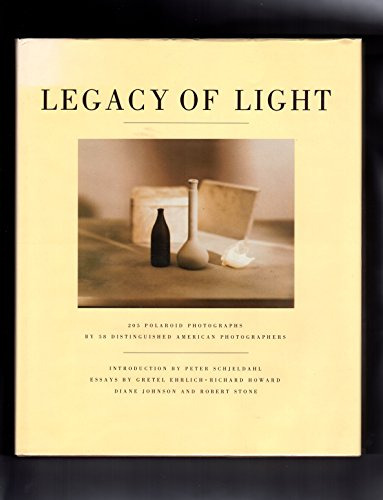 Legacy of Light (First Edition, signed by Robert Stone): Stone, Robert; Diane Johnson, Gretel ...