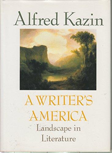 9780394571423: A Writer's America:Landscape in Literature