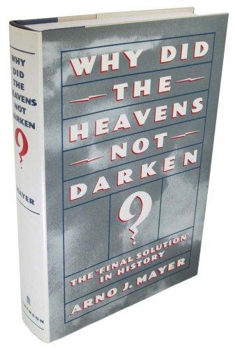 9780394571546: Why Did the Heavens Not Darken