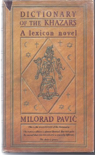9780394571836: Dictionary of the Khazars: A Lexicon Novel in 100,000 Words (Male Edition) (English and Serbo-Croatian Edition)