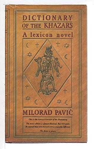 9780394572369: Dictionary of the Khazars: Female Version : A Lexicon Novel