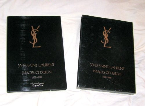 9780394573267: Yves Saint Laurent: Images of Design, 1958-1988