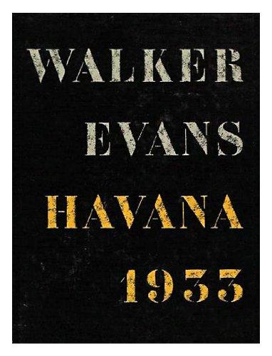 9780394574936: Walker Evans: Havana 1933