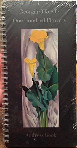 9780394581828: One Hundred Flowers: Address Book