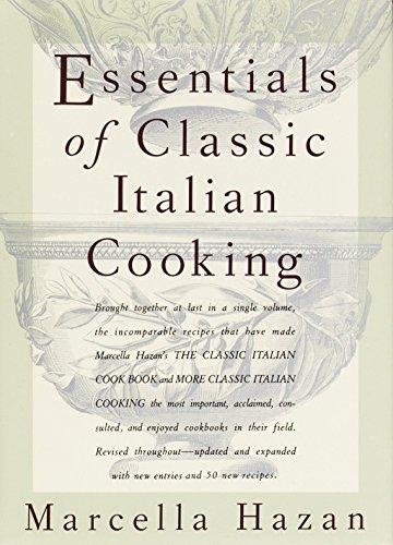 9780394584041: Essentials of Classic Italian Cooking