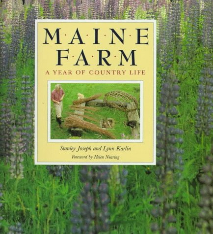 9780394584645: Maine Farm: A Year of Country Life