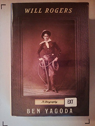 9780394585123: Will Rogers: A Biography