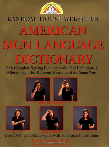 9780394585802: Random House American Sign Language Dictionary