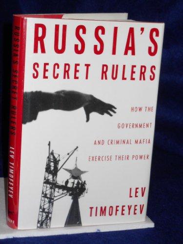 Russia's Secret Rulers: Timofeyev, Lev