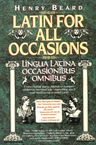 9780394586601: Latin for All Occasions: Lingua Latina Occasionibus Omnibus (English and Latin Edition)