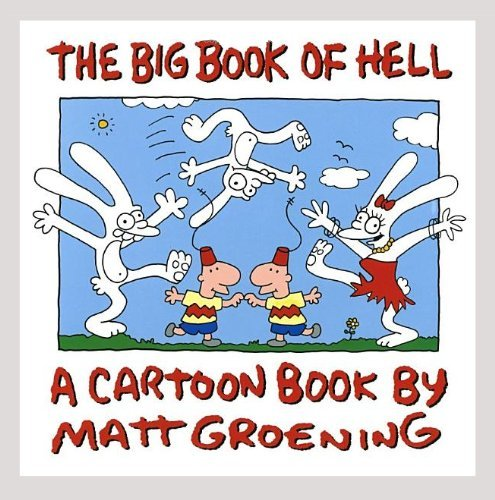 9780394587790: The Big Book of Hell: A Cartoon Book
