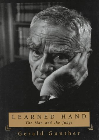 Learned Hand: The Man and the Judge [& cased with] A Fanfare for Prometheus