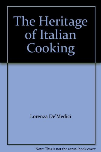 9780394588766: The Heritage of Italian Cooking