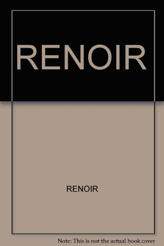 9780394589084: Renoir by Renoir (Artists By Themselves)