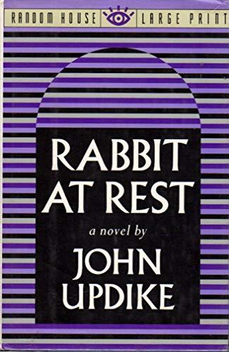 9780394589367: Rabbit At Rest (Random House Large Print)