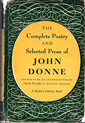9780394600123: Complete Poetry and Selected Prose of John Donne