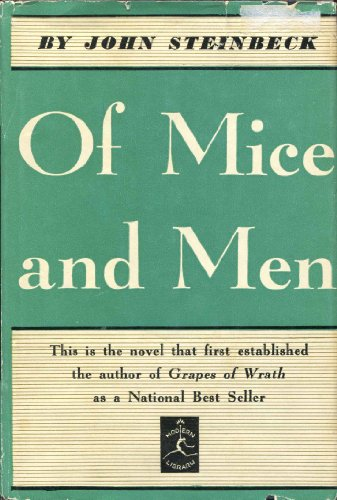 9780394600291: Of Mice and Men