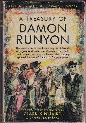 9780394600536: A Treasury of Damon Runyon (Modern Library, No. 53)