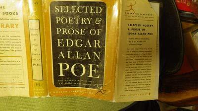 SELECTED POETRY AND PROSE OF EDGAR ALLAN POE: POE EDGAR ALLAN