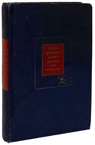 Great German short novels and stories: Lange, Victor