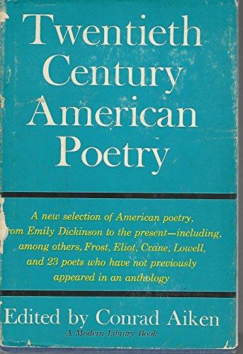 Twentieth Century American Poetry: Conrad Aiken