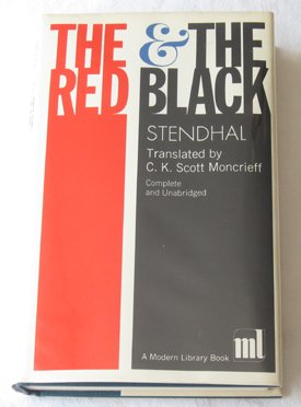 9780394601571: The Red and the Black (Modern Library, 157.1)