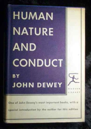9780394601731: Human Nature and Conduct (Modern Library)