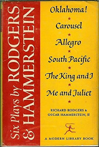 9780394602004: 6 Plays by Rodgers and Hammerstein