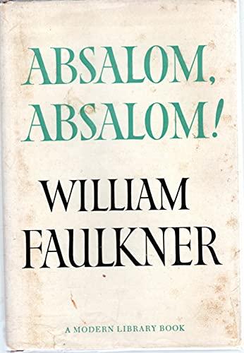 9780394602714: Absalom, Absalom