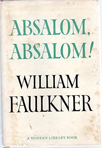an analysis of writing style in absalom by william faulkner