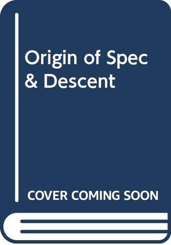 9780394603988: The Origin of Species and the Descent of Man