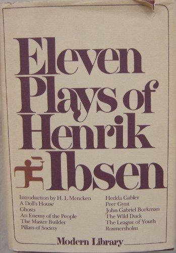 9780394604145: 11 Plays Henrik Ibsen