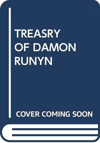 9780394604442: A Treasury of Damon Runyon, Selected, with an Introduction by Clark Kinnaird (Modern Library Edition)