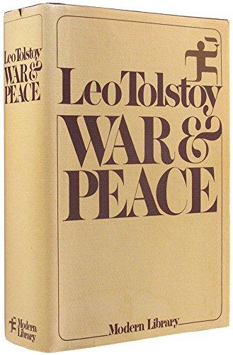 War & Peace: Tolstoy, Leo