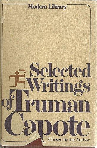 9780394604954: Selected Writings of Truman Capote