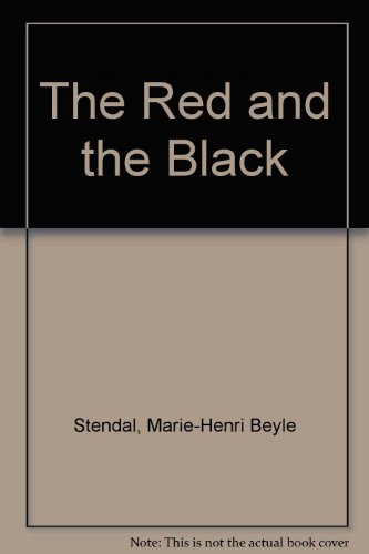 9780394605111: The Red and the Black